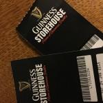 Eintrittskarten für das gratis Guinness