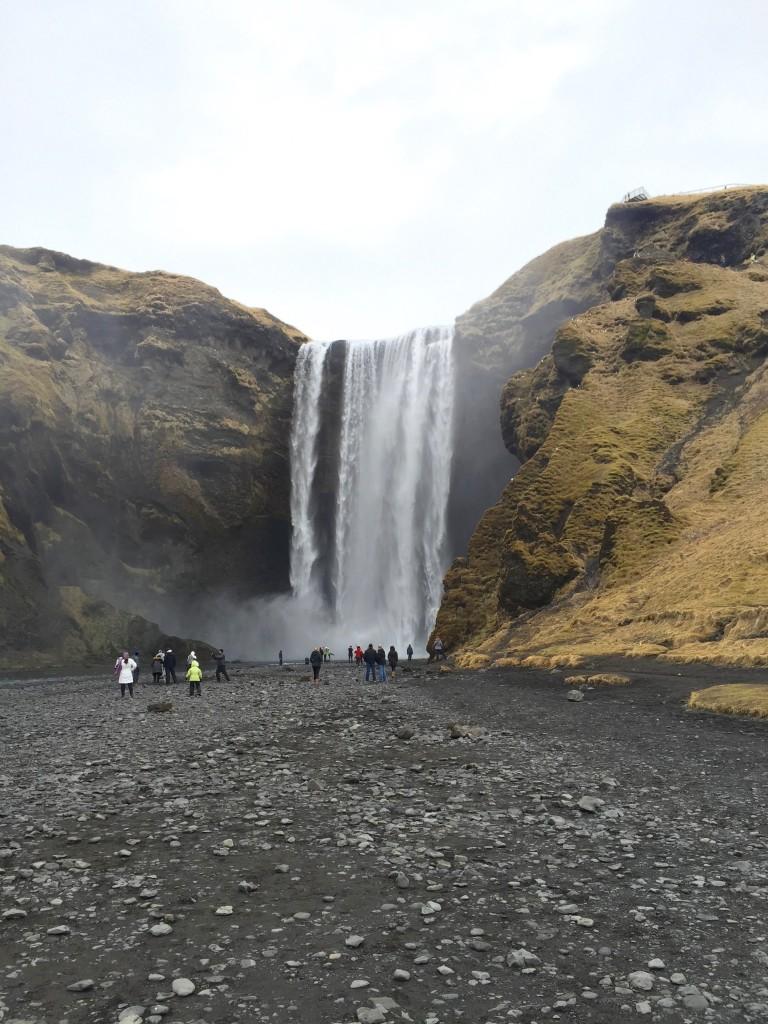 Skogafoss-Wasserfall-2