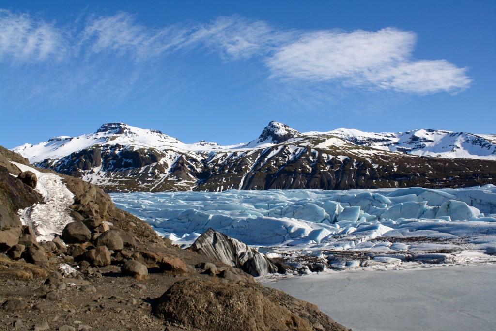 Das Ende eines Gletschers!
